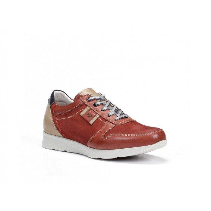 Zapatos Hombre Fluchos Kodiak F0129 Rojo
