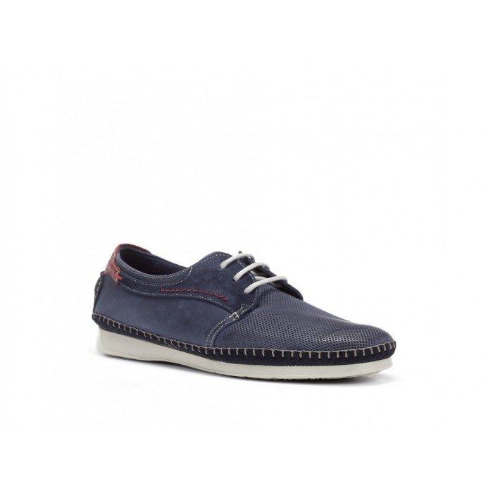 Zapatos Hombre Fluchos Komodo F0199 Azul Océano