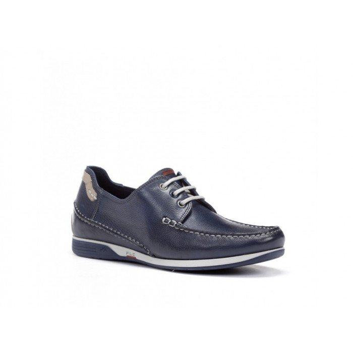 Zapatos Náuticos Hombre Fluchos James 9123 Azul Lago