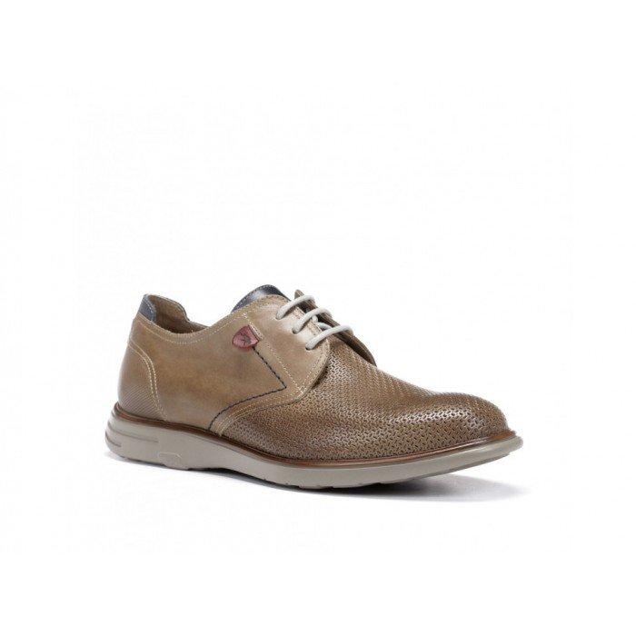 Zapatos Hombre Fluchos Thunder F0358 Camel
