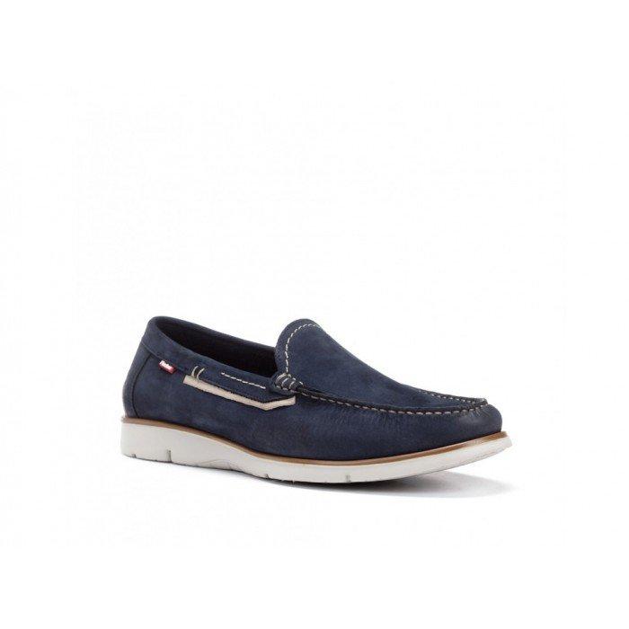 Zapatos Hombre Fluchos Giant 9777 Azul Océano