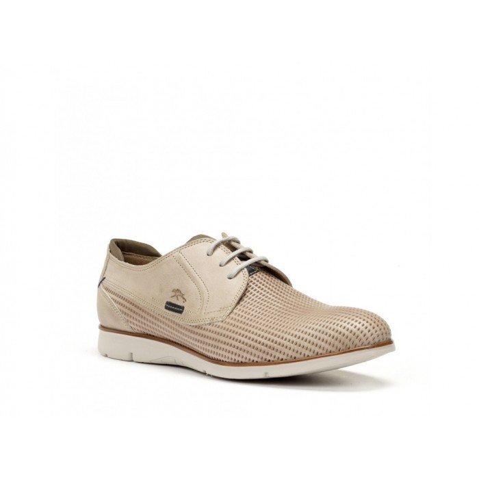 Zapatos Hombre Fluchos Giant 9789 Beige Piedra