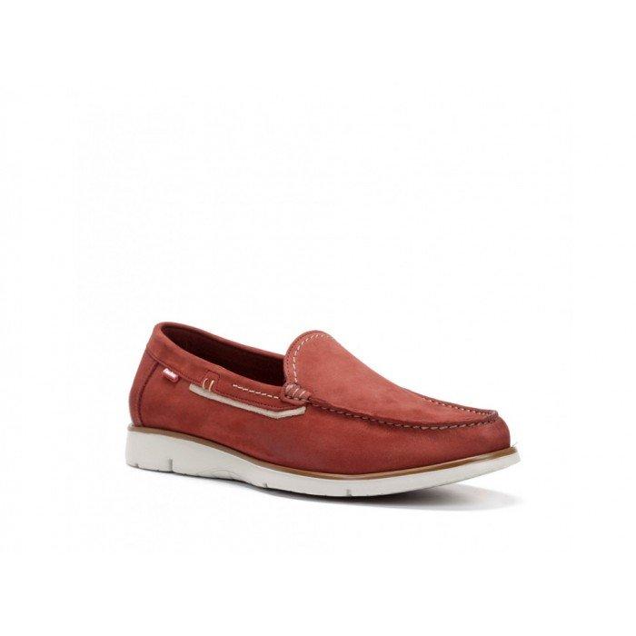 Zapatos Hombre Fluchos Giant 9777 Rojo Terracota