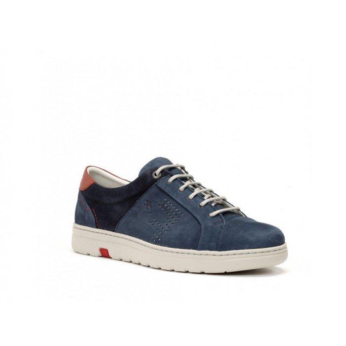 Zapatos Hombre Fluchos Atlas F0152 Azul Jeans