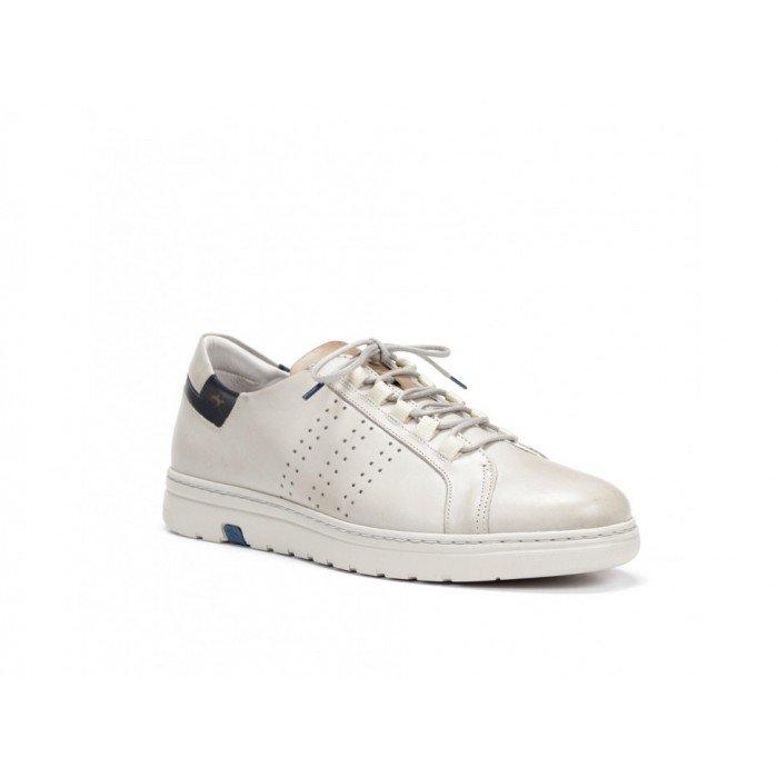 Zapatos Hombre Fluchos Atlas F0149 Blanco Cristal