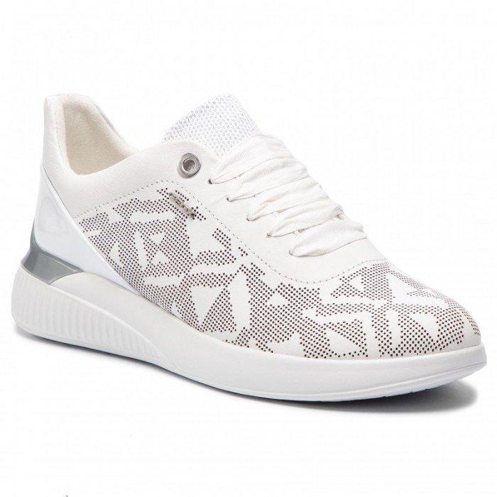 Zapatos Deportivos Mujer Geox Theragon Blanco.