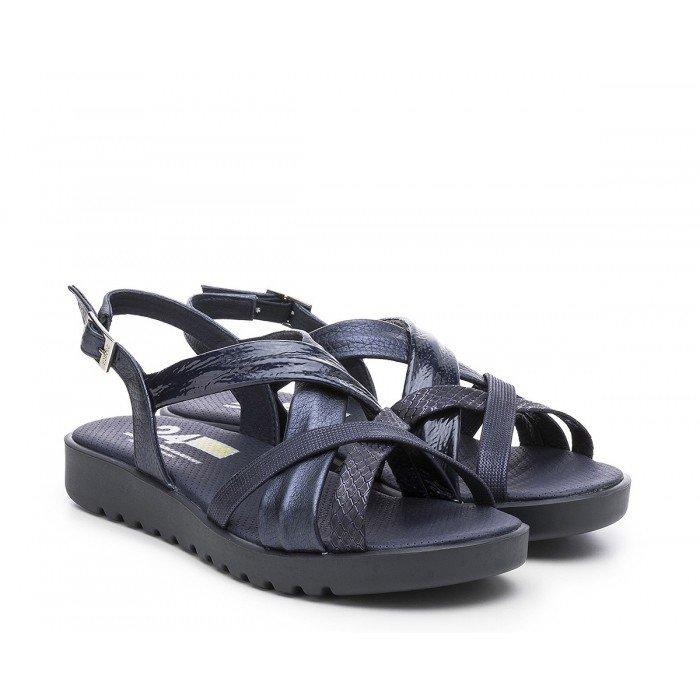 Sandalias Mujer 24 Hrs  24497 Azul Marino