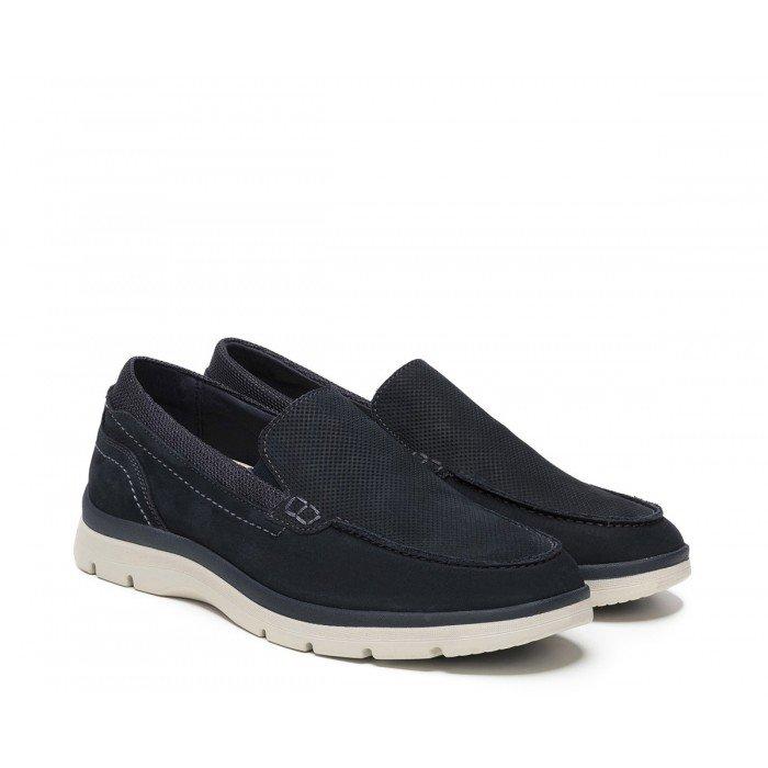 Zapatos hombre 24 Hrs 10588 Nobuck Marino