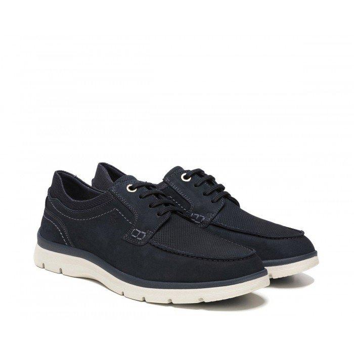 Zapatos Hombre 24 Hrs 10593 Nobuck Marino