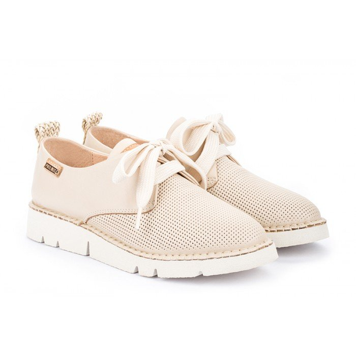 Zapatos Mujer Pikolinos W0R-6780 Marfil