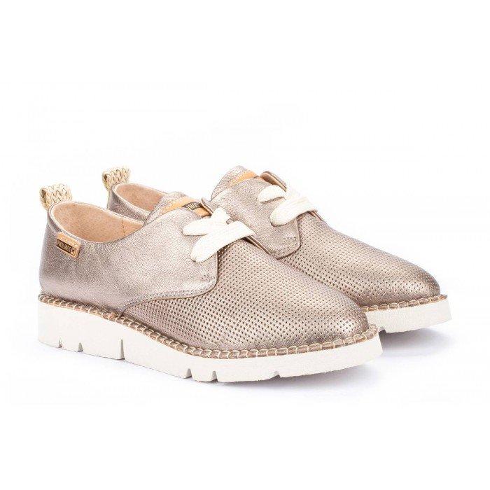 Zapatos Mujer Pikolinos W0R-6780 Stone