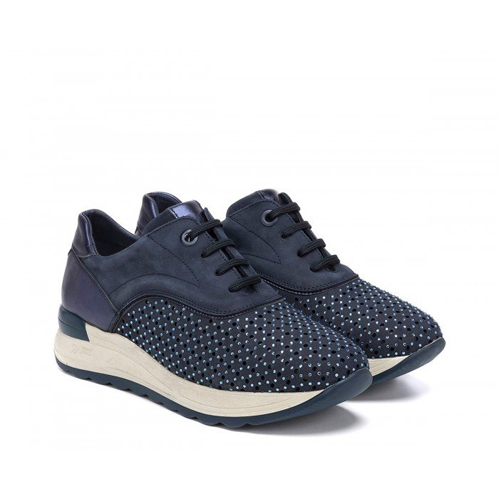 Zapatos Deportivos Mujer 24 Hrs 23590 Azul