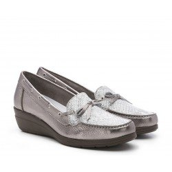 Zapatos Mujer 24 Hrs 23992 Acero