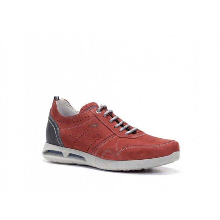 Zapatos Hombre Fluchos Cypher F0554 Rojo Terracota