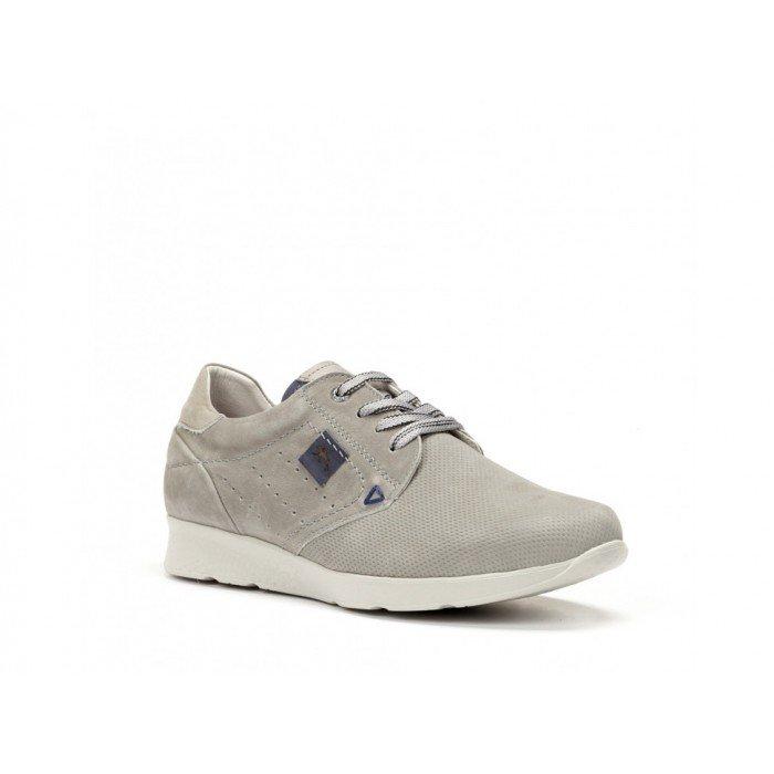 Zapatos Deportivos Hombre Fluchos Kodiak F0128 Delbuck Gris