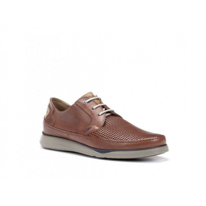 Zapatos Hombre Fluchos  Jones F0461Marrón Libano