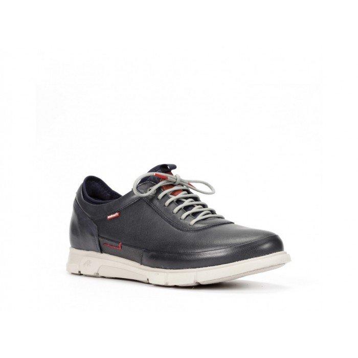 Zapatos Hombre Fluchos Tiger 9867 Azul Marino