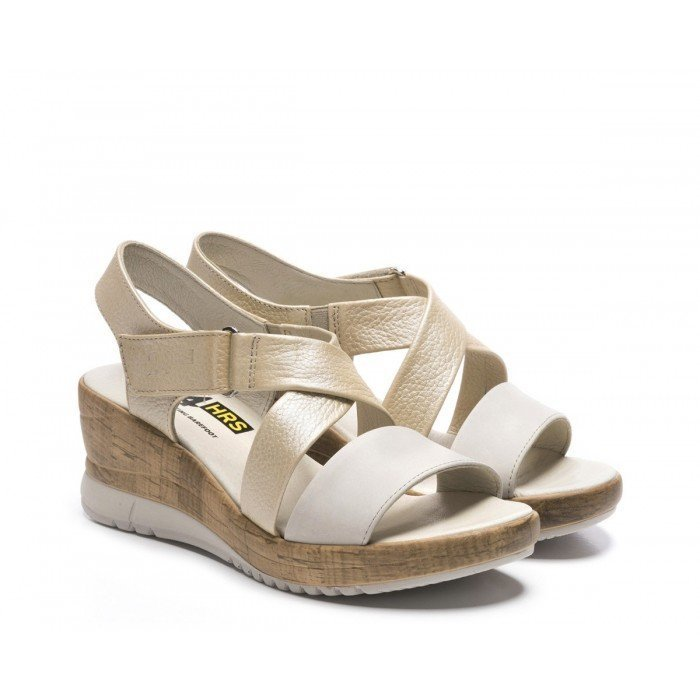 Sandalias Mujer 24 Hrs 24125 Beige