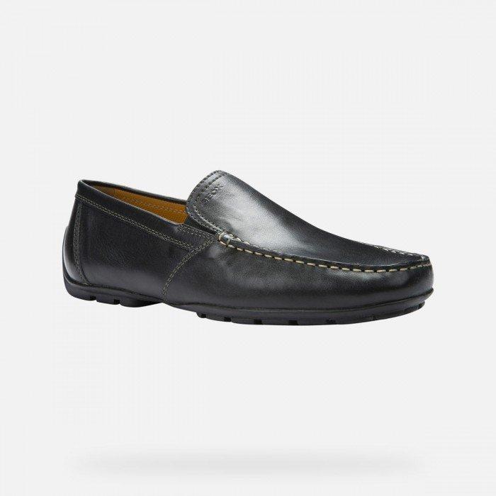 Zapatos Hombre Geox Moner Negro