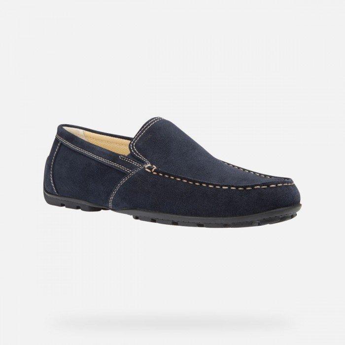 Zapatos Hombre Geox Moner Azul