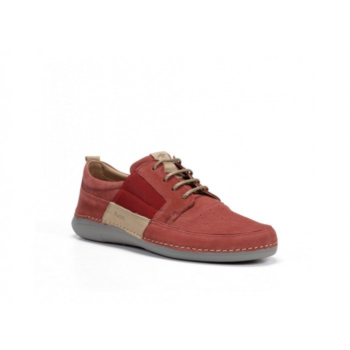 Zapatos Hombre Fluchos Matrix F0506 Rojo Terracota