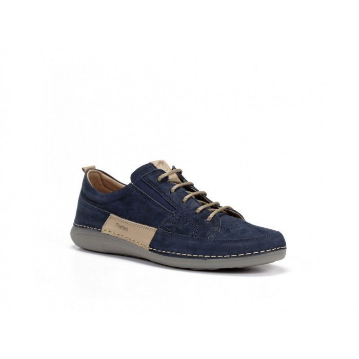 Zapatos Hombre Fluchos Matrix F0507 Azul Océano