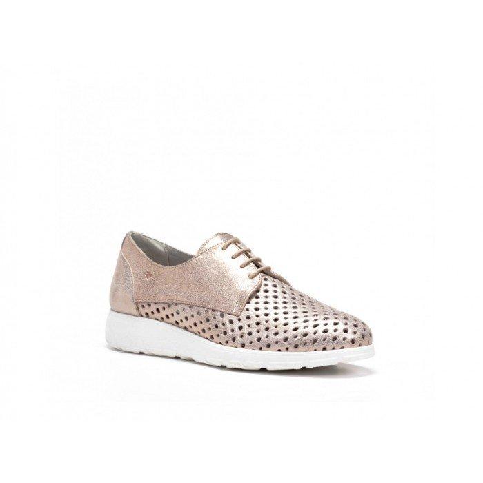 Zapatos Deportivos Mujer Dorking Libre F0421 Rosa Cobre
