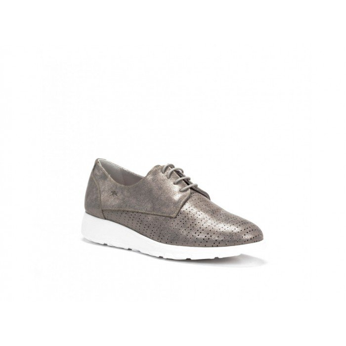 Zapatos Mujer Dorking F0422 Gris Acero