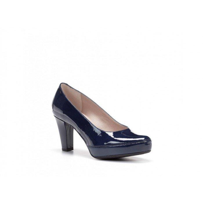 Zapatos Mujer Dorking Blesa D5794 Kafir Azul Marino Charol