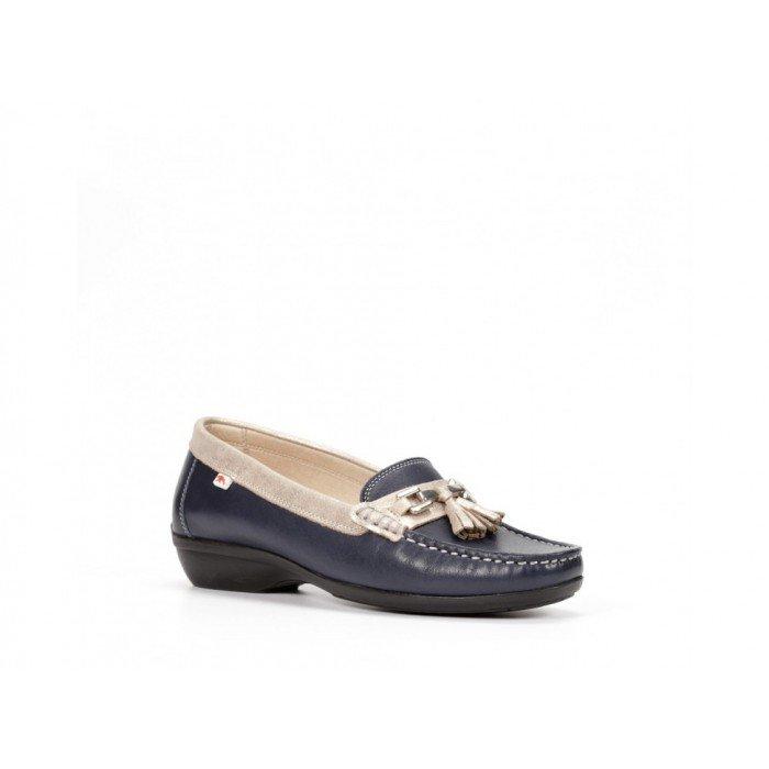 Zapatos mujer Dorking Aduna F0078 Azul Océano