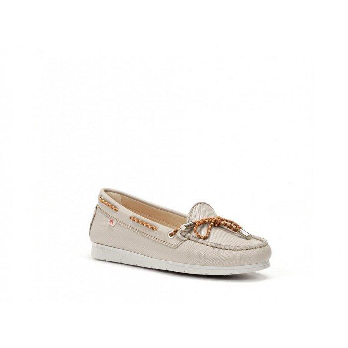 Zapatos Mujer Dorking Banus F0062 Gris Lino