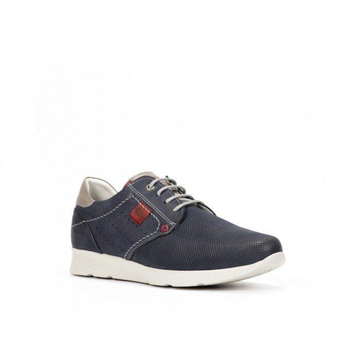 Zapatos Deportivos Hombre Fluchos Kodiak F0128 Azul Océano