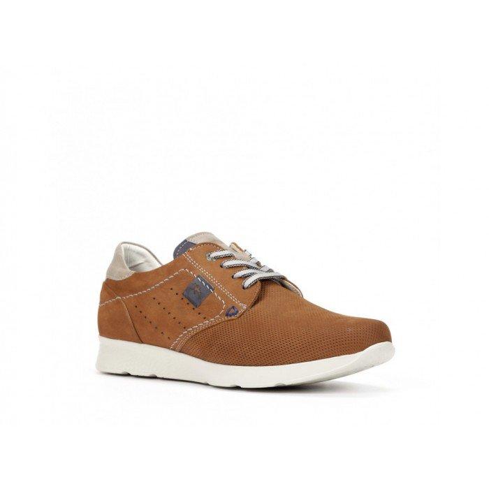 Zapatos Deportivos Hombre Fluchos Kodiak F0128 Delbuck Cuero