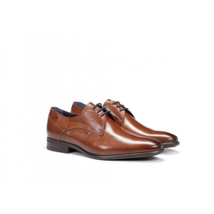 Zapatos Vestir Hombre Fluchos Alex 9204 Memory Cuero