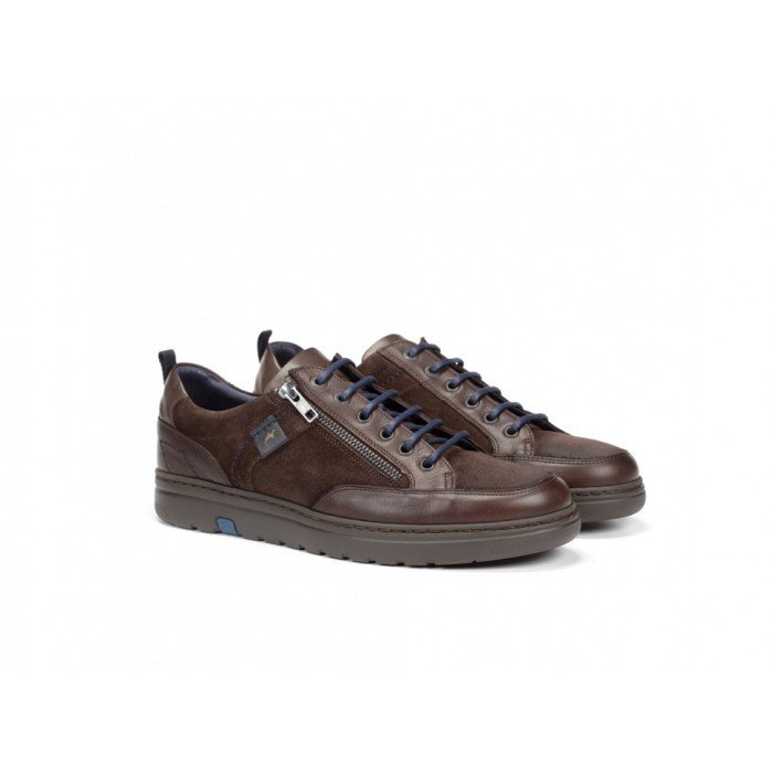 Zapatos Hombre Fluchos Atlas F0292 Marrón Brandy