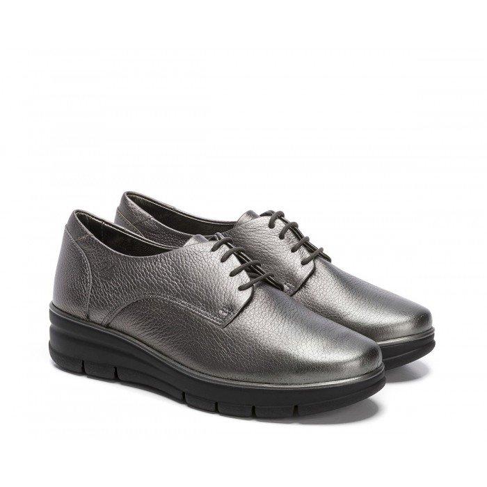 Zapatos Mujer 24 Hrs 24292 Gris Plomo