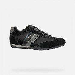 Zapatos Hombre Geox Wells Negro