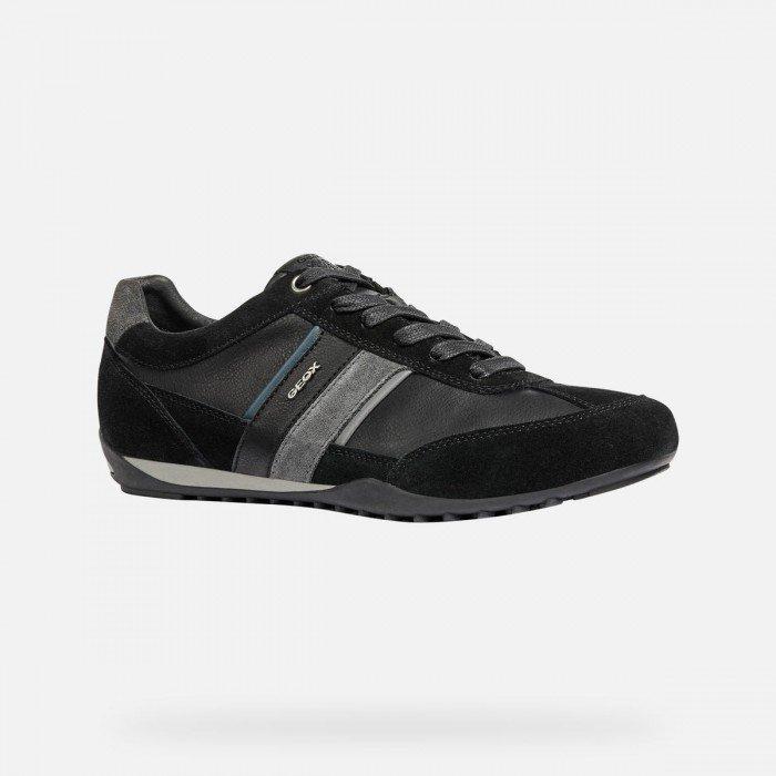Zapatos Hombre Geox U Wells C Negro