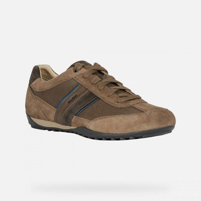 Zapatos Hombre Geox Wells Marrón Chocolate