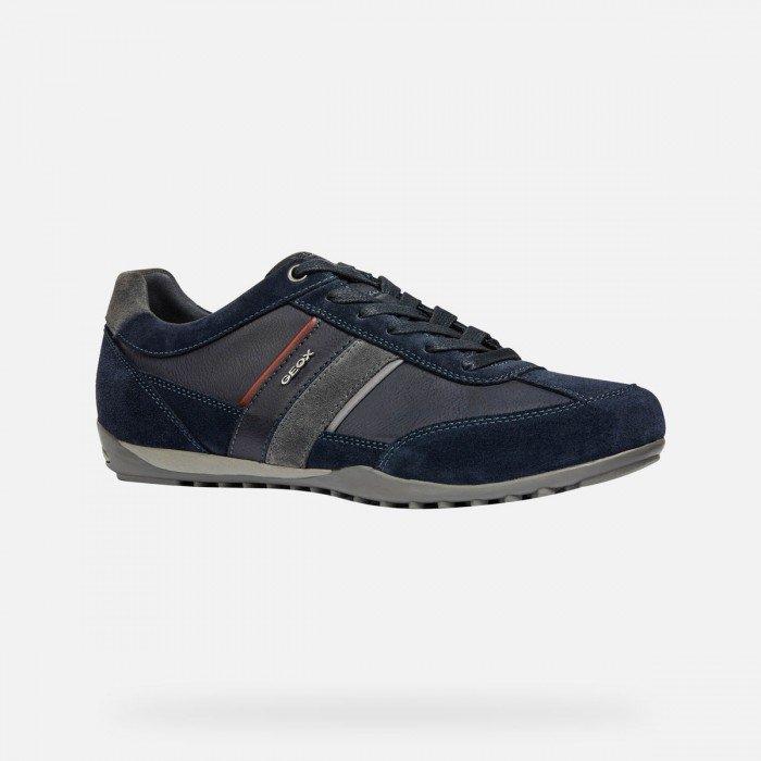 Zapatos Deportivos Hombre Geox U Wells C Azul