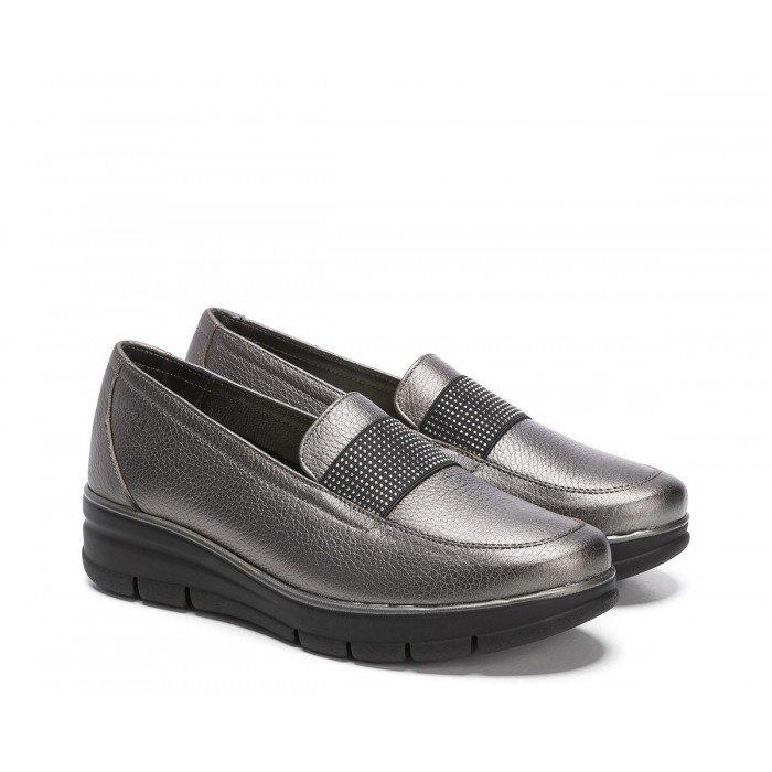 Zapatos Mujer 24 Hrs 24290 Gris Plomo