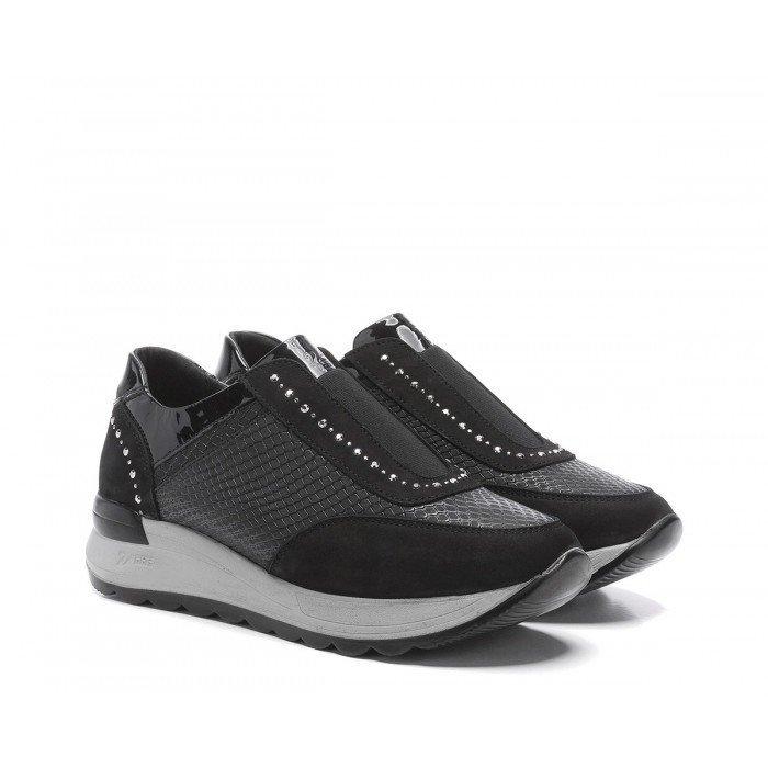 Zapatos Deportivos Mujer 24 Hrs 24310 Negro