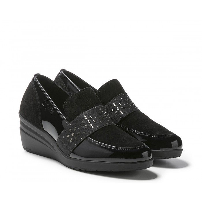 Mocasines Mujer 24 Hrs 24211 Negro