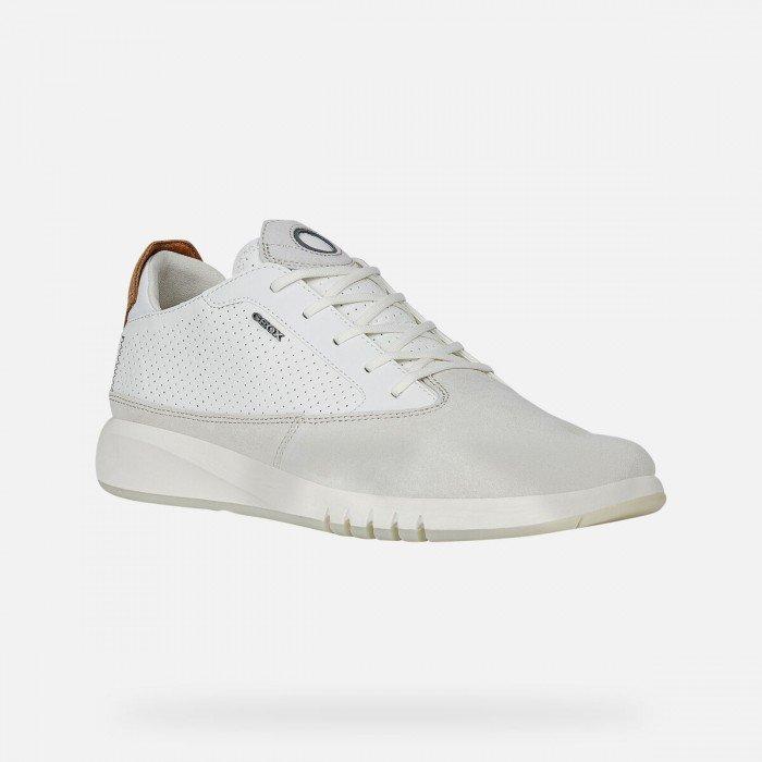 Zapatos deportivos Hombre Geox Aerantis Blanco