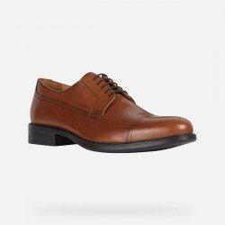 Zapatos Hombre Geox Carnavy Marrón Ocre