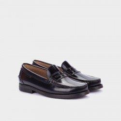 Zapatos Hombre Castellanos Martinelli Alcalá C182-0017AYM Negro