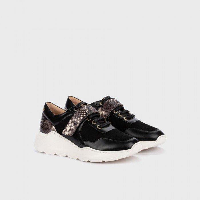 Zapatos Deportivos Mujer Martinelli Kate 1452-5643NA Negro