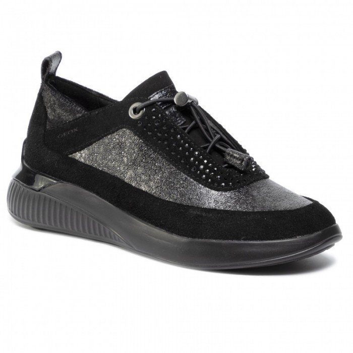 Zapatos Deportivos Mujer Geox D Theragon A Negro