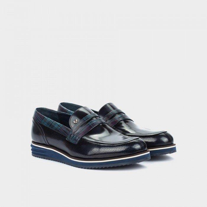 Zapatos Castellanos Hombre Martinelli Wesley 1208-1349KV Azul Oscuro