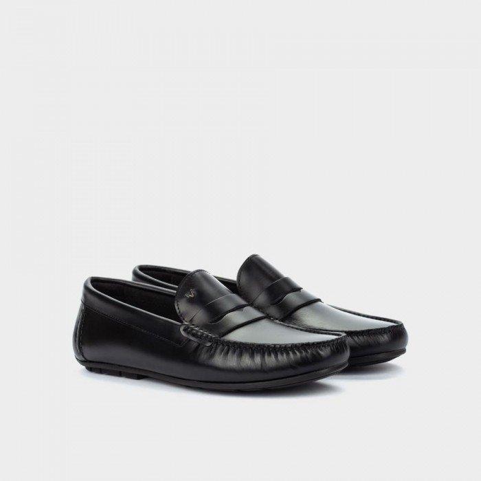 Zapatos Castellanos Hombre Martinelli Pacific 1411-2496B Negro